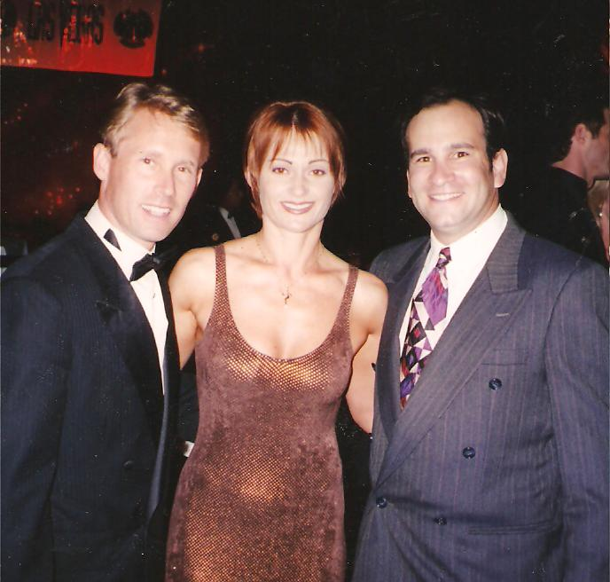 Bart Conner and Nadia Comaneci
