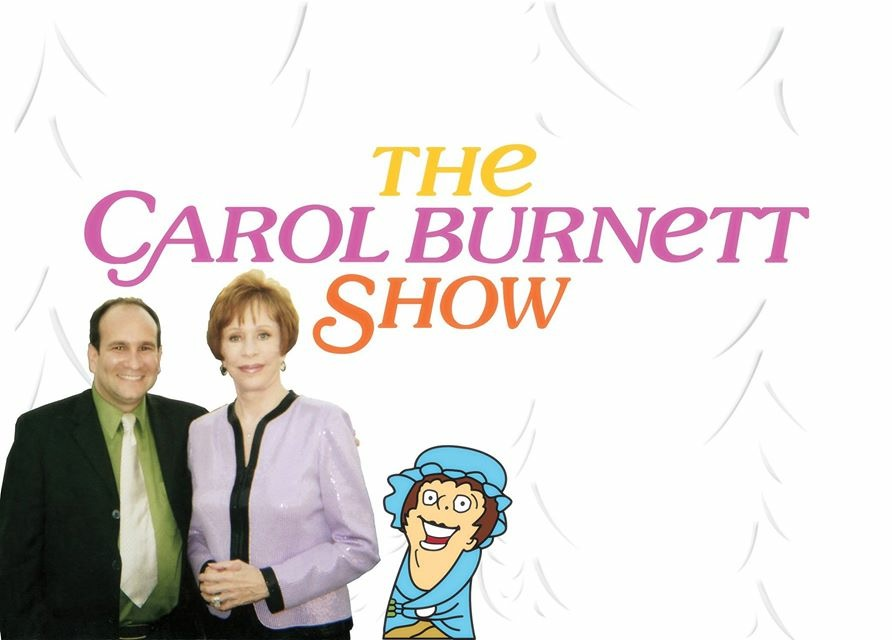 Carol Burnett with Char woman