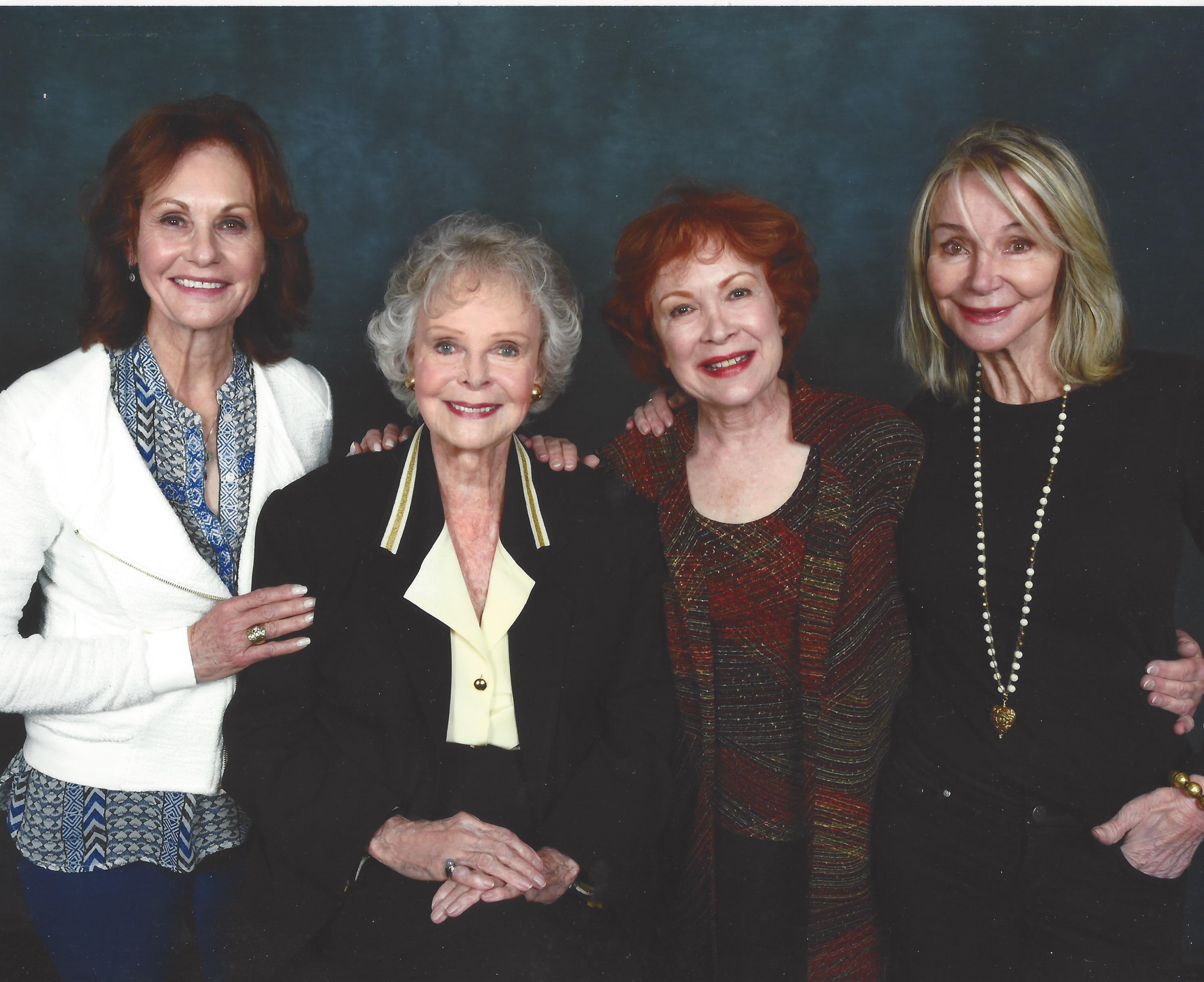 Cast of Petticoat Junction with June Loc