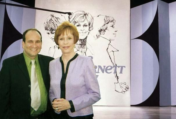 Carol Burnett on stage