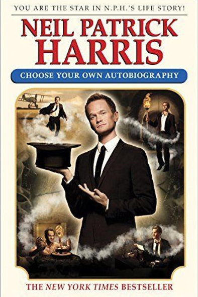 Neil Patrick Harris SIGNED BOOK