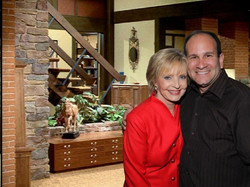 Florence Henderson at the Brady House