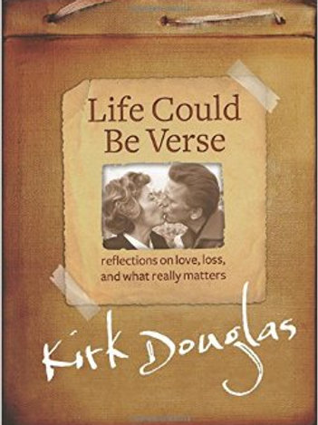 Life Could Be Verse SIGNED BOOKPLATE Kirk Douglas