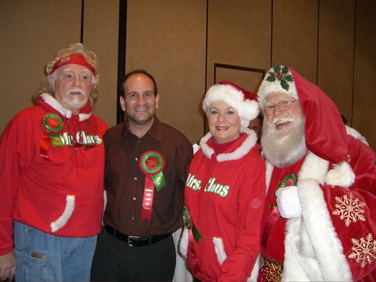 Shirley Jones, Marty Ingles & Santa