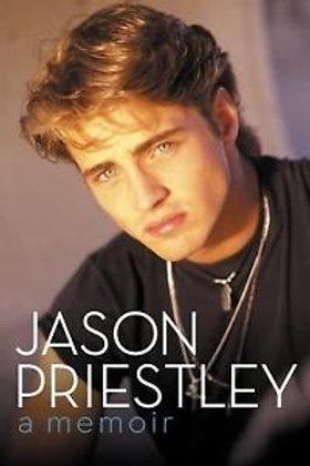 Jason Priestley SIGNED BOOK Memoir