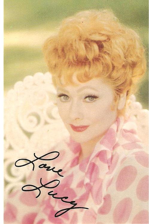 Love Lucy Fan card RARE