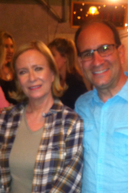 Eve Plumb after the play 6-5-2013