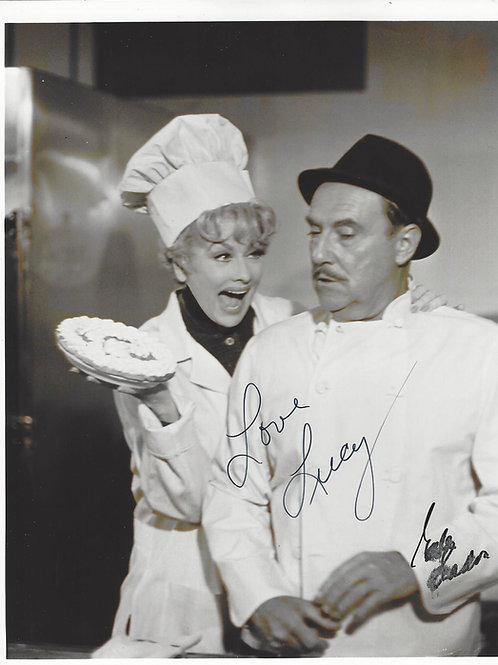 Lucy and Gale Gordon SIGNED PICTURE