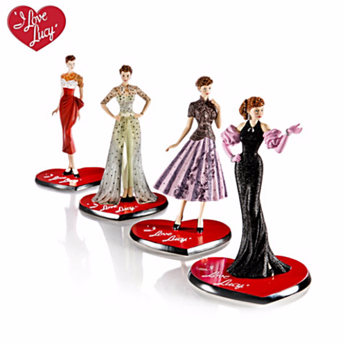 Lucy Figurines set of 6