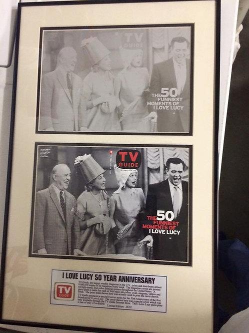 Framed Art work 26/32 From TV GUIDE