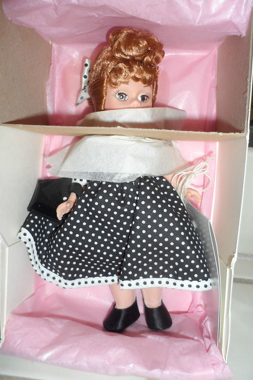 Madame Alexander Doll Lucy Polka dot dress 8in
