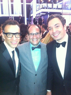 Jimmy Fallen and Fred Armisen