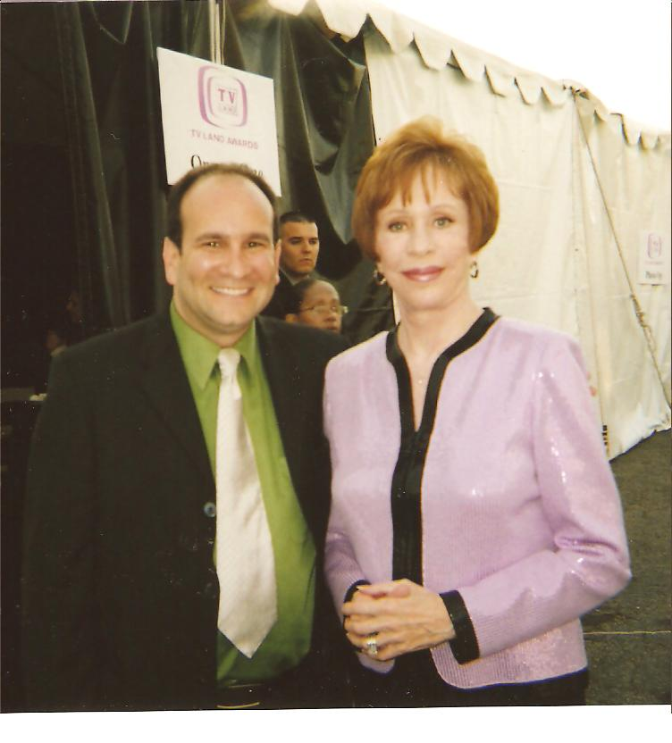 Carol Burnett and Michael 4-14-2007