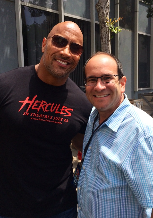 Dwayne Johnson Aka The Rock 7-16-2014