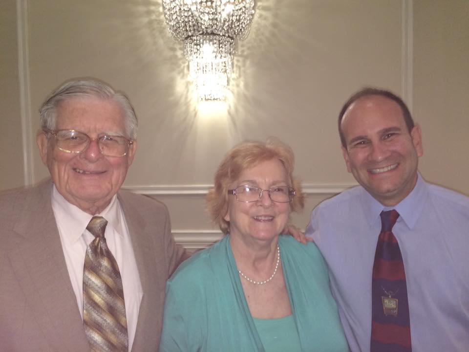Frank Gorey and Wanda Clark