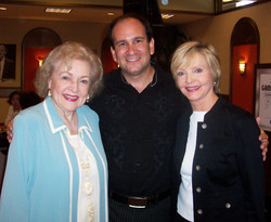Betty White and Florence Henderson