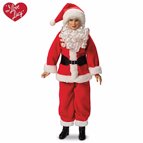 Lucy as Santa Claus by Ashton Drake Talking Doll