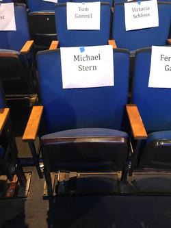 Carol Burnett my TV audience Chair 10-4-2017
