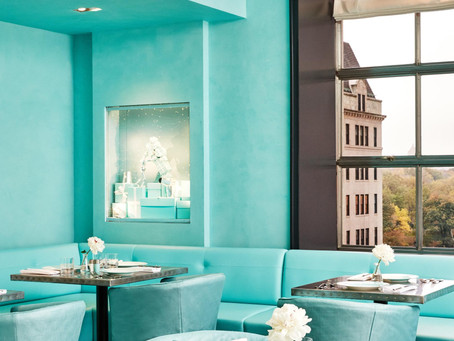 Tiffany & Co.: The Blue Box Cafe