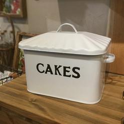 エナメルケーキ缶
