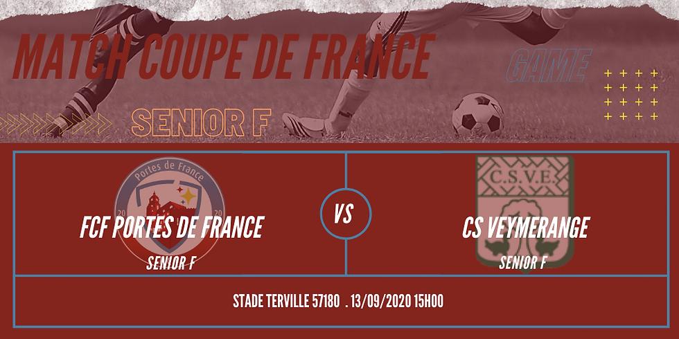 Match de Coupe de France Senior