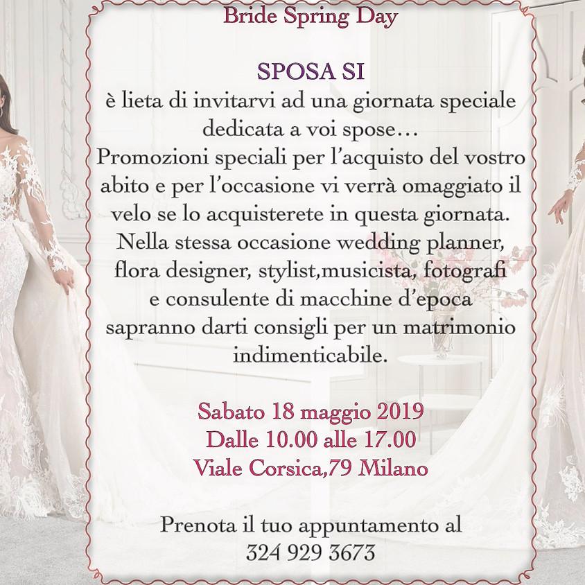 Bride Spring Day