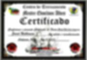 Jared Nathanson 2nd Degree Black Belt Certificate