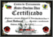 Jared Nathanson 3rd Degree Black Belt Certificate