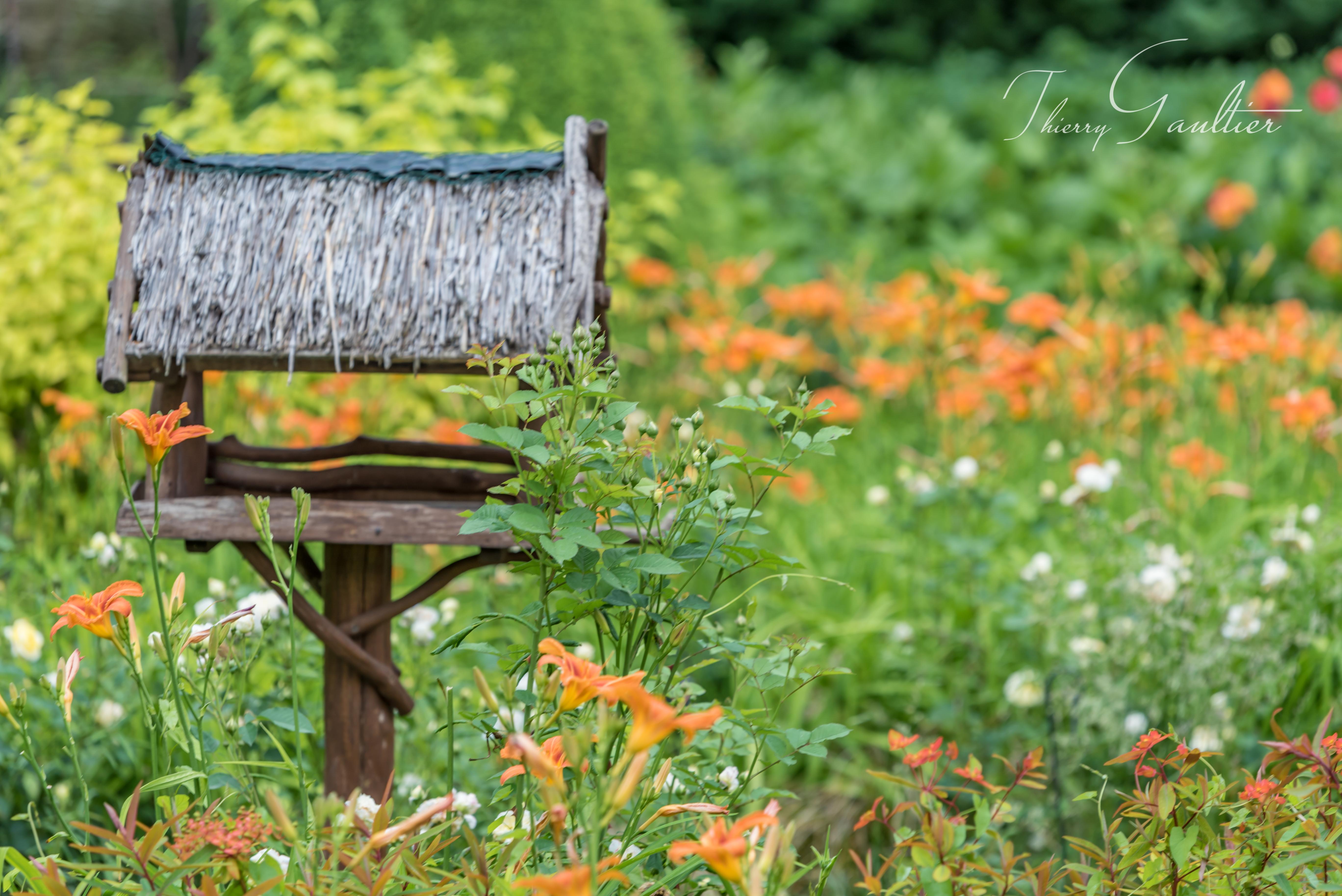 Jardin de Fleurs au château du RIVAU