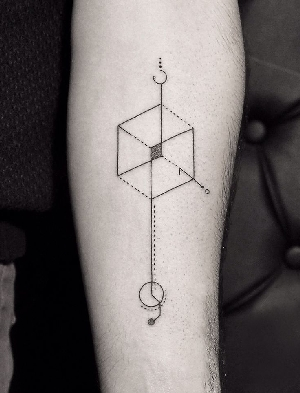 minimal-geometric-tattoo-by-bicem-sinik