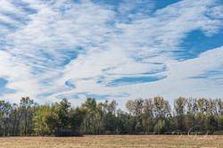 Ciel à la Prairie du Roy
