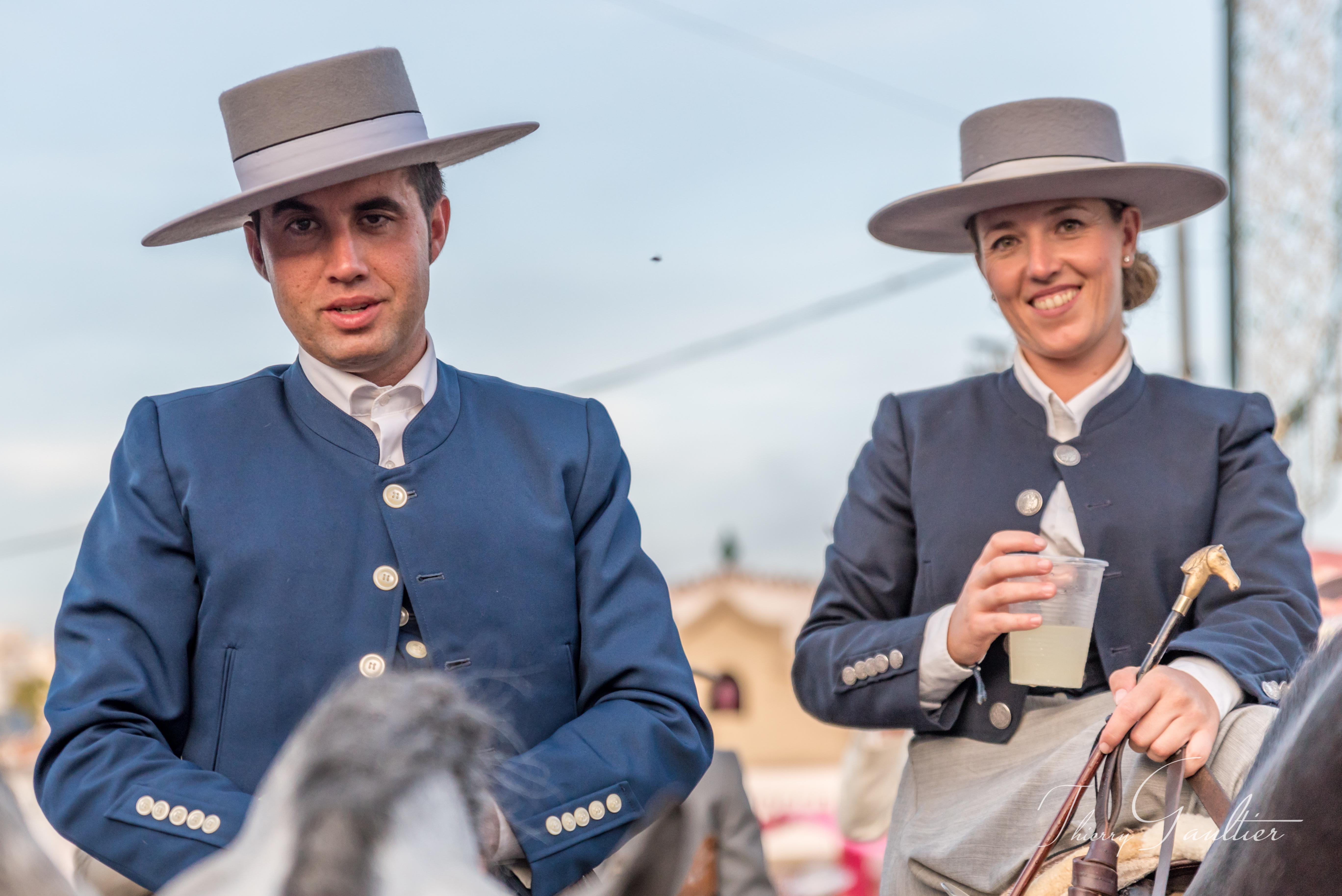 Cavaliéros à la Foire de Fuengirola