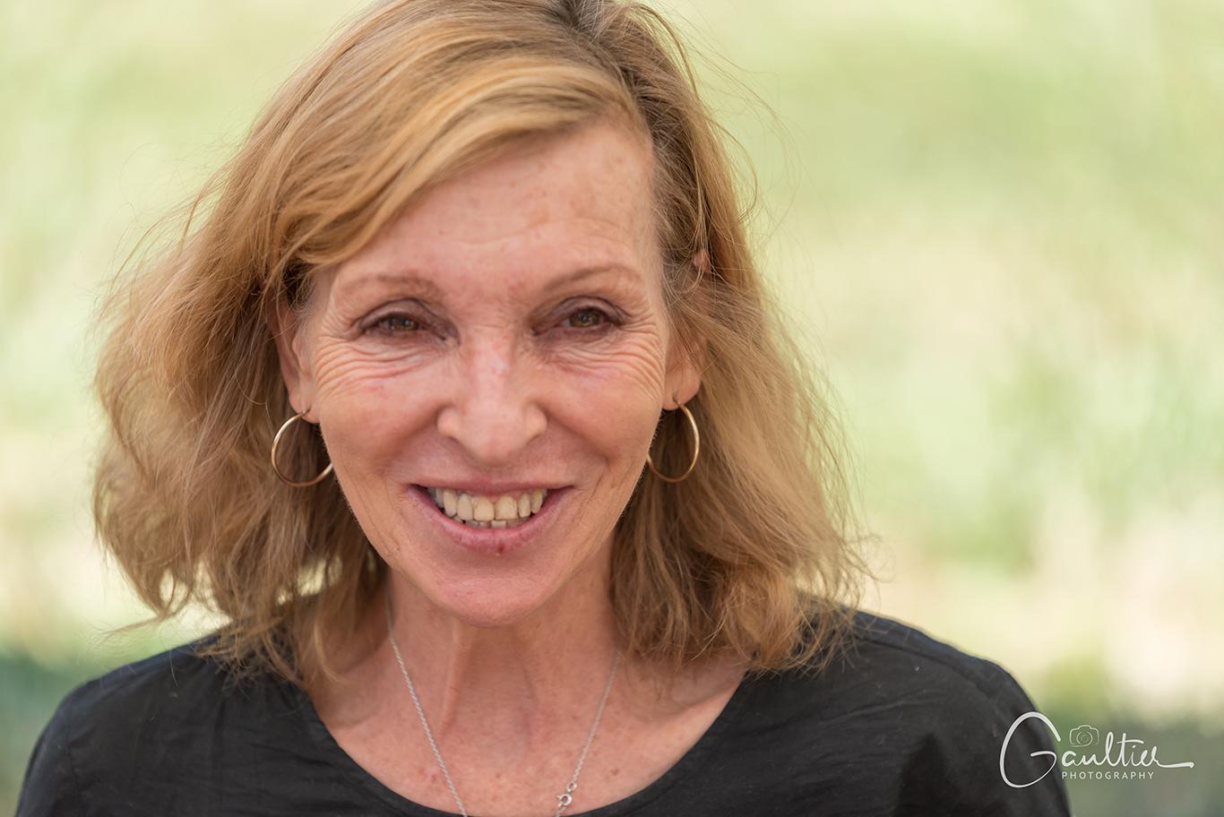 L'écrivain Emmanuelle de Boysson