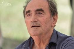 L'écrivain Richard Bohringer