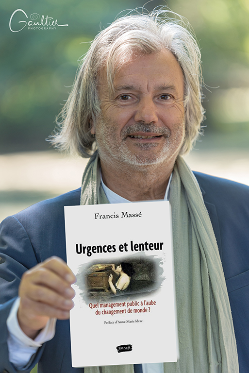 L'écrivain Francis Massé