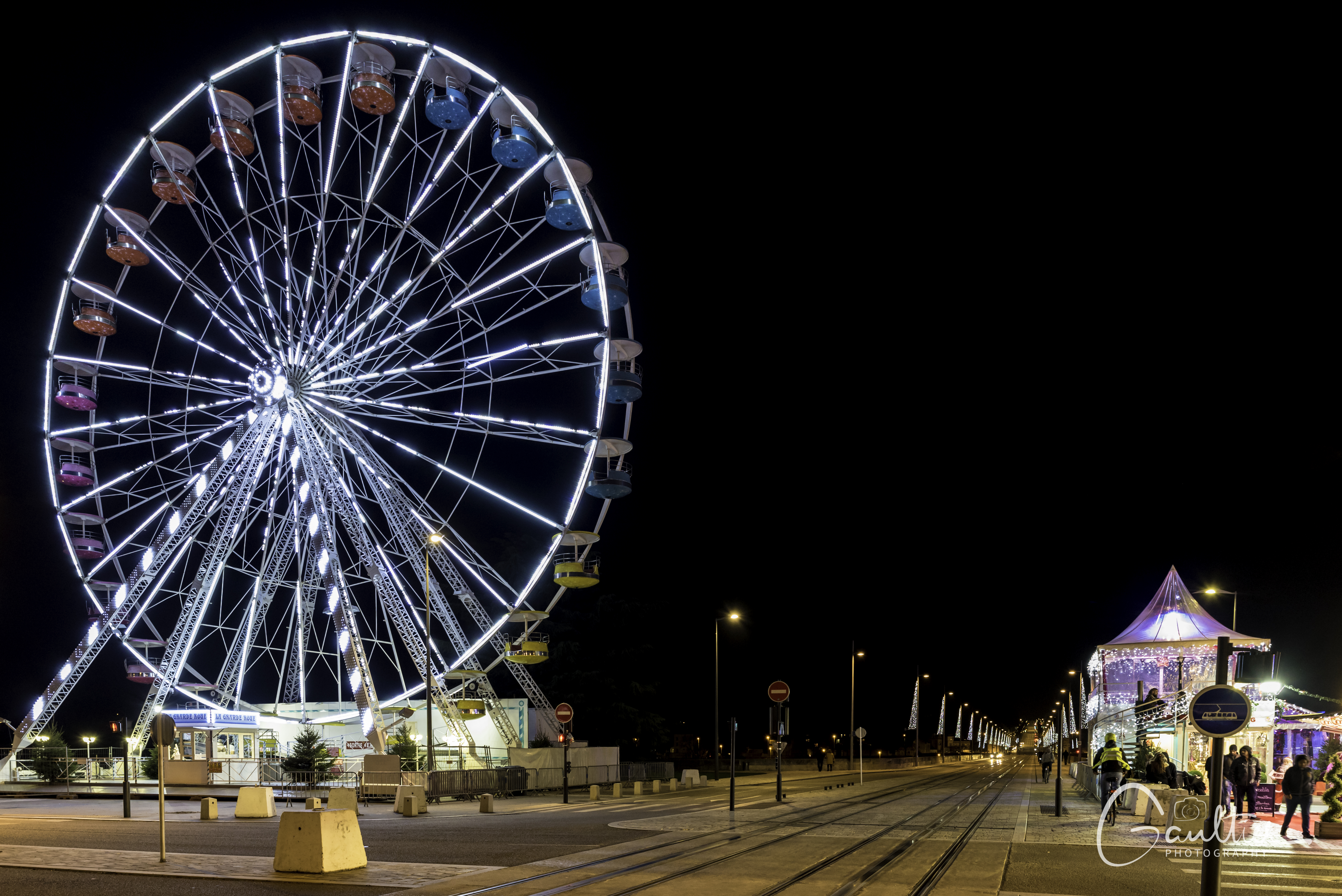 La grande roue, Place Anatole France