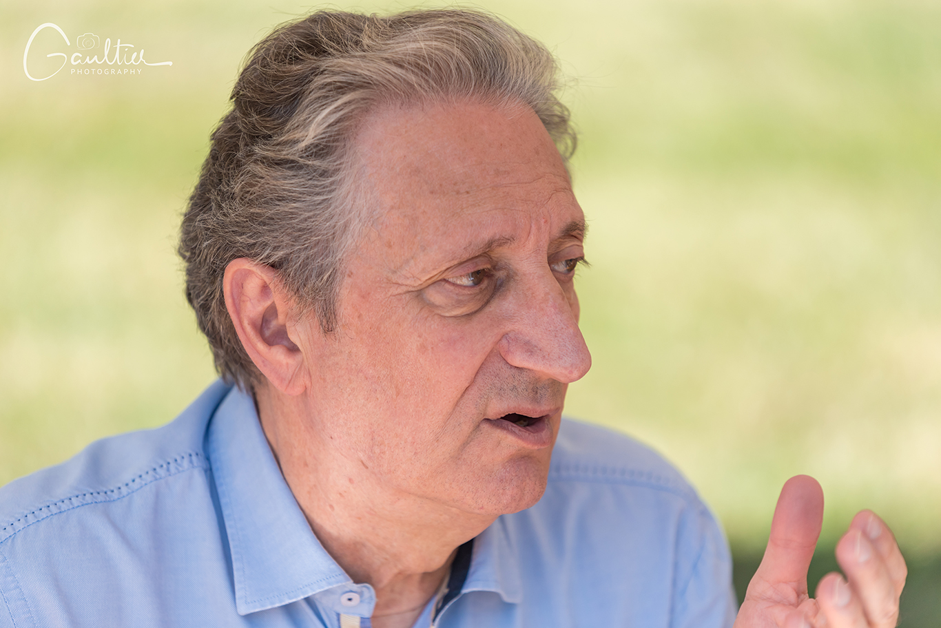 L'écrivain Gérard De Cortanze