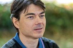 L'écrivain Christophe Vasse