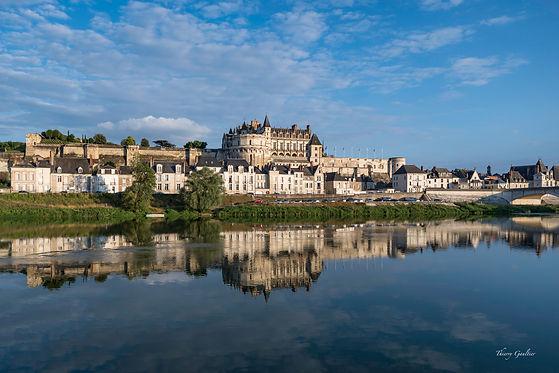 Château d'Amboise et la Loire