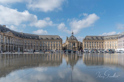 Miroir d'eau Place de la Bourse