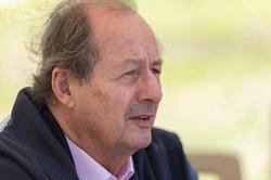 L'écrivain Jean-Marie Rouart
