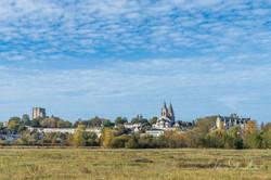 Cité Royale de LOCHES, de la Prairie