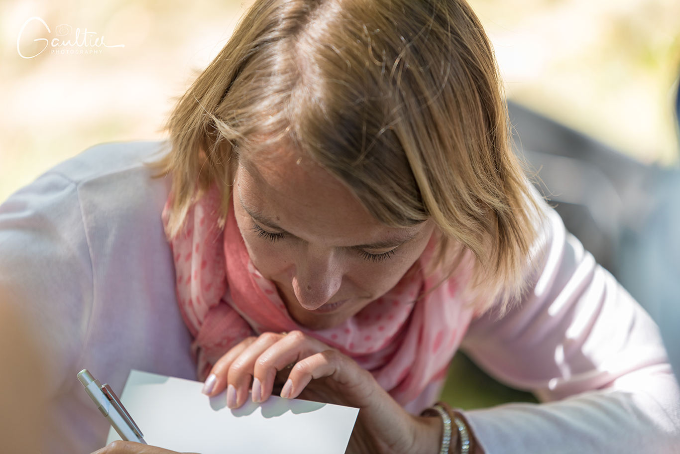 L'écrivain Emilie Le Boulaire