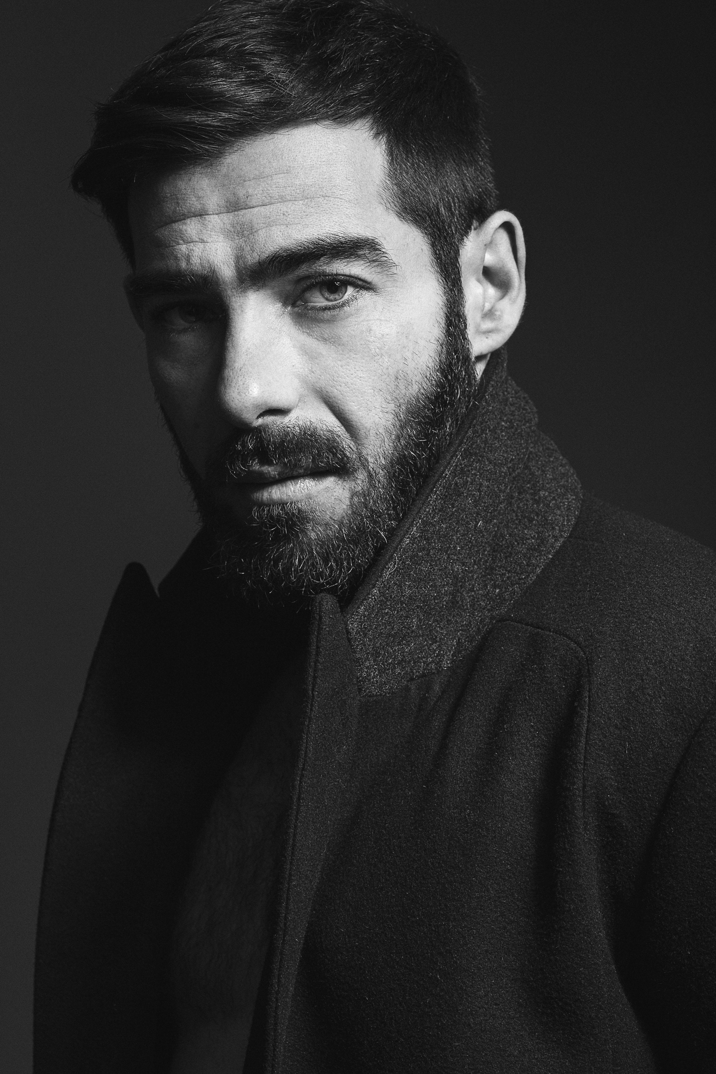 Retrato Modelo Hombre