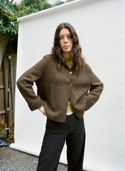 Vintage Deadstock Sketa Alpaca and Mohair Woollen Jacket