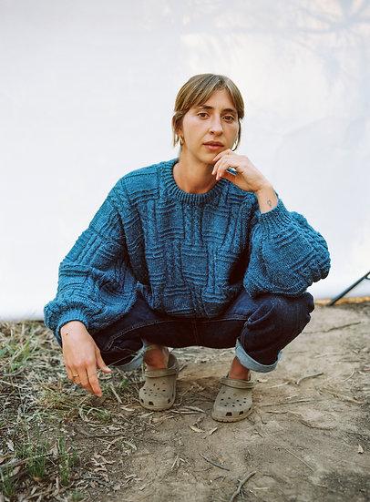 Pure Wool Australian Hand Knit Knit Sweater