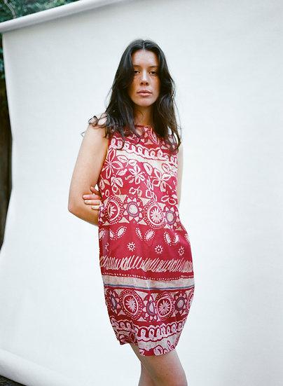 Vintage Hoss Cotton Silk Dreamers Mini Dress