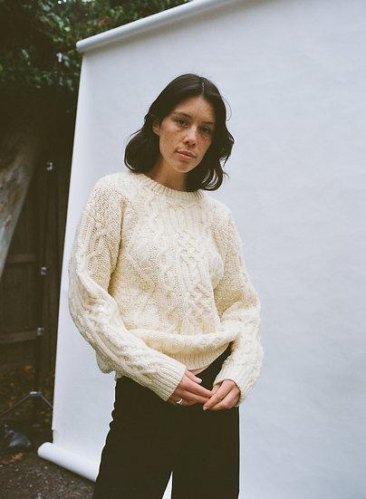 Vintage Australian Hand Knit Woollen Sweater