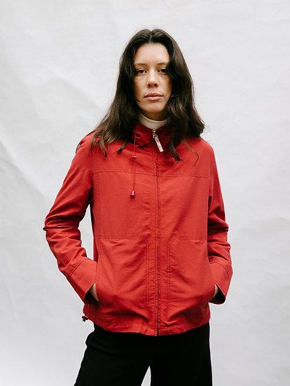 Vintage Ideals Collection Zip Up Parka Hooded Jacket