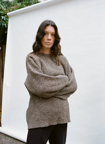 Vintage Naturally Australian Pure Wool Knitted Sweater